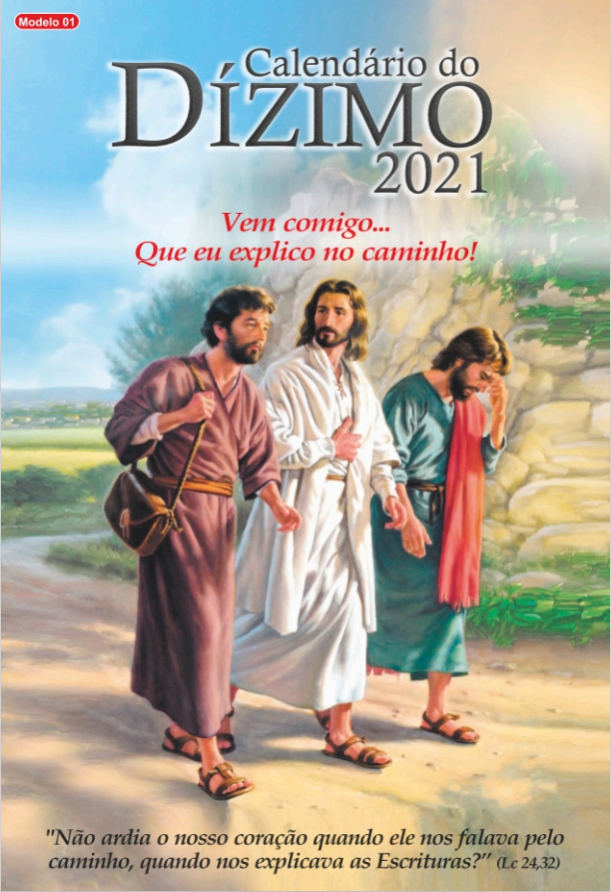 Modelo 01 – Capa dos Discípulos de Emaús 2021